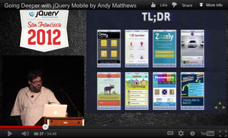 jQuery Conference Video Thumbnail